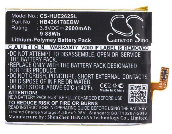 Akku passend für Huawei Mate S, E2629, CRR-CL20, CRR-L09 2600mAh