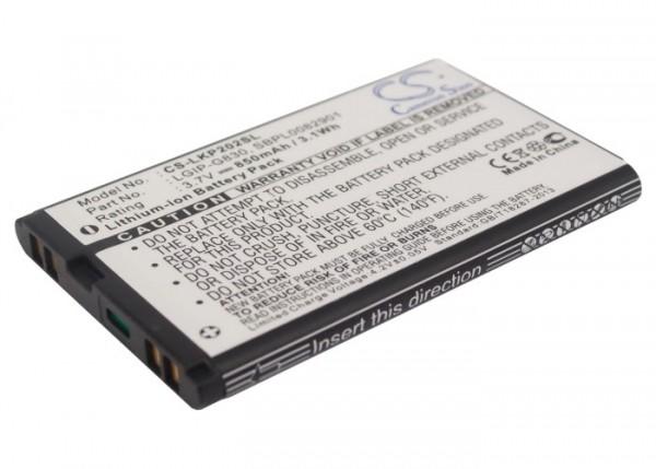 Akku ersetzt LG LGIP-G830 passend für KG120, KG202, KG290
