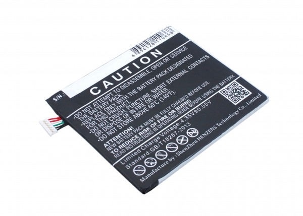 Akku ersetzt HTC 35H00237-00M, 35H00237-01M, B0PKX100