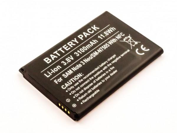 Akku ersetzt Samsung EB-BN750BBC, EB-BN750BBE mit NFC