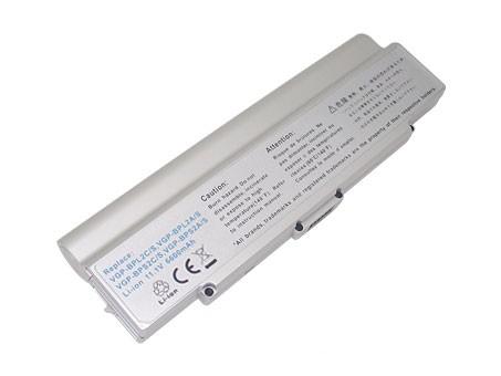 Akku für SONY VGP-BPL2A/S, 7800mAh Silber