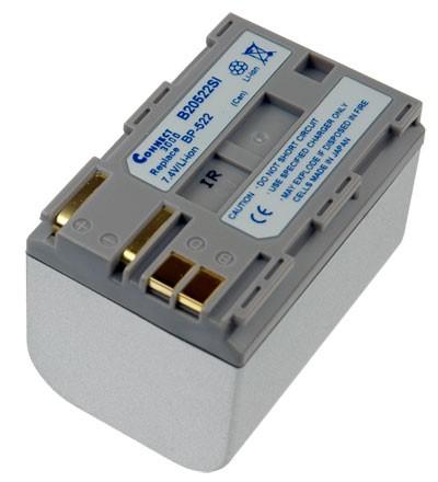 Akku passend für PowerShot G1, MV-300 3000mAh Silber