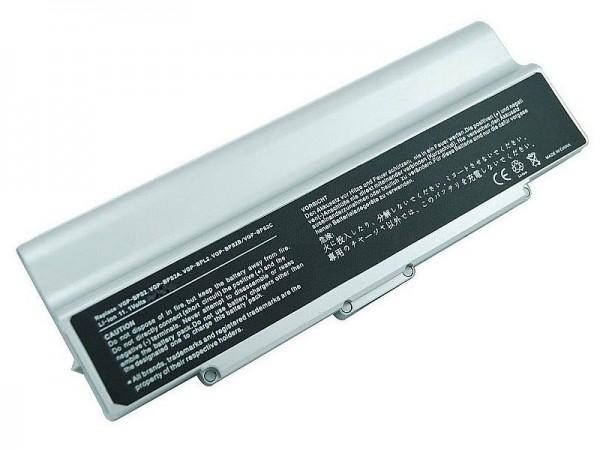 Akku für SONY VGP-BPL2C/S, 7800mAh Silber