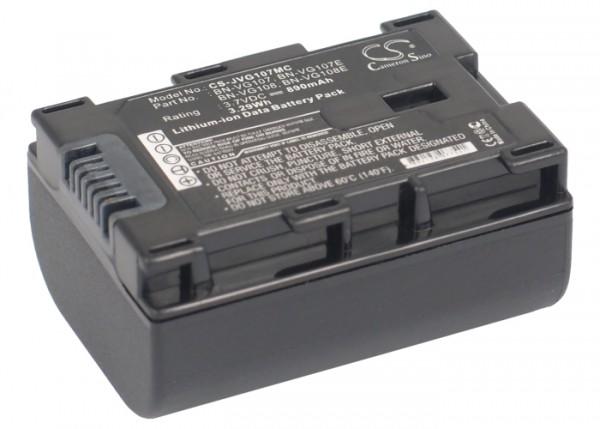 Akku passend für JVC Z-HD500BUS, GZ-MS230AG 890mAh