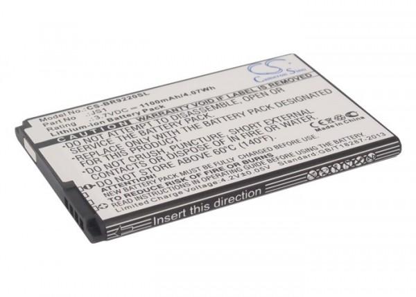Akku ersetzt Blackberry J-S1, BAT-44582-003 1600mAh