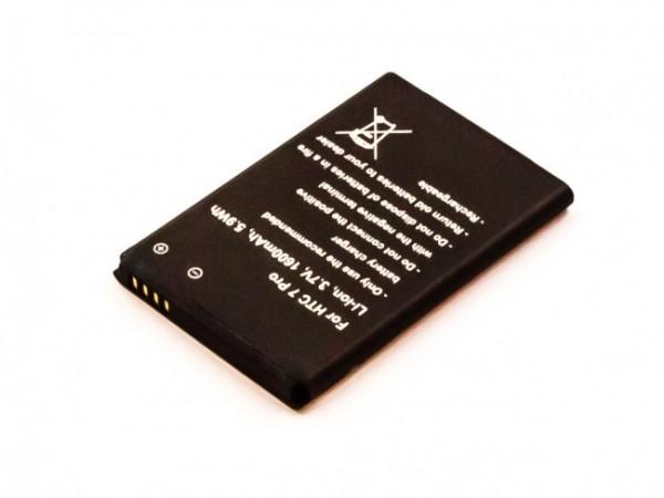 Akku passend für HTC 7 Pro, T7576 1600mAh