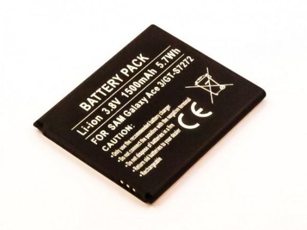 Akku passend für Samsung Galaxy Ace 3, Ace 3 3G 1500mAh