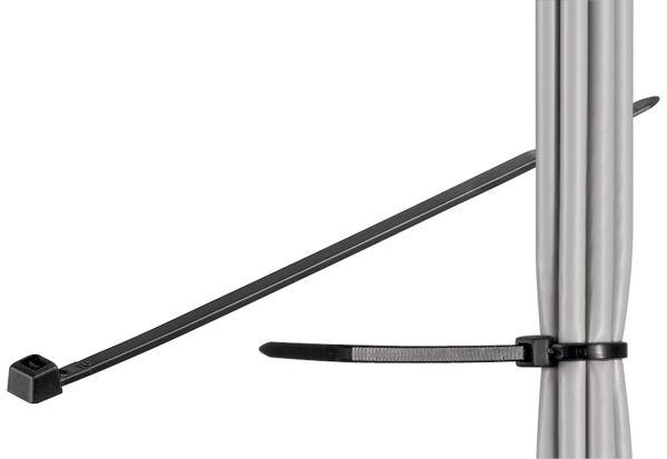 Kabelbinder 300mm x 3.5mm 100 Stück schwarz