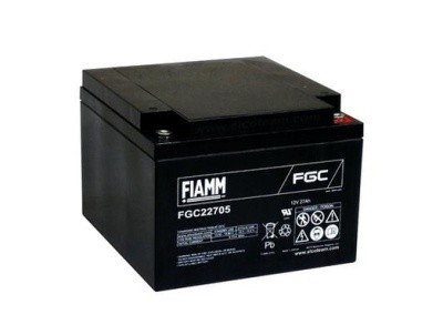 Fiamm FGC22705 Zyklenfest 12V 27Ah passend für Parkomatic