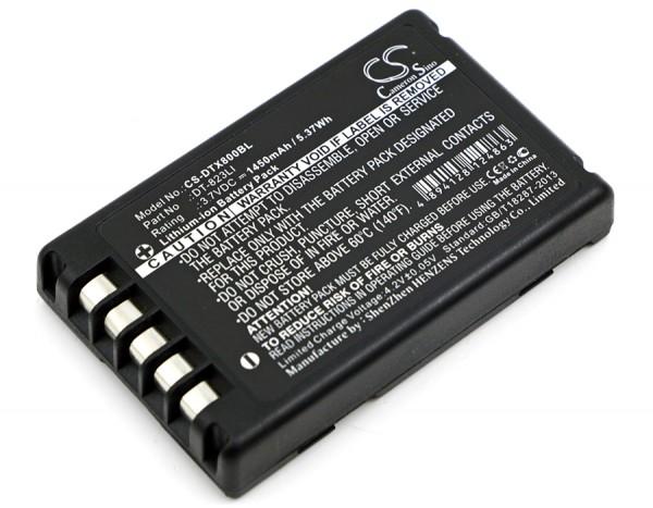 Akku ersetzt Casio DT-823LI passend für Barcode Scanner DT-800