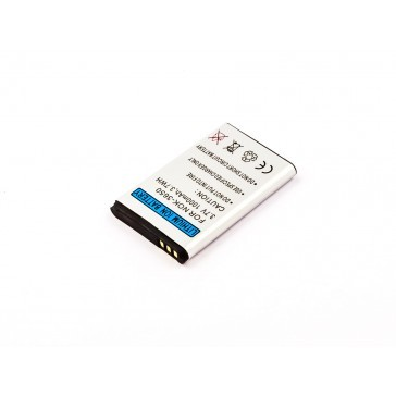 Akku passend für Nokia 3555, 3600, 3620, 3650, 3660 1000mAh
