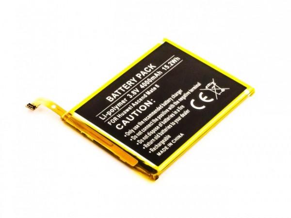 Akku passend für Huawei Ascend Mate 8, NXT-AL10, -DL00 4000mAh