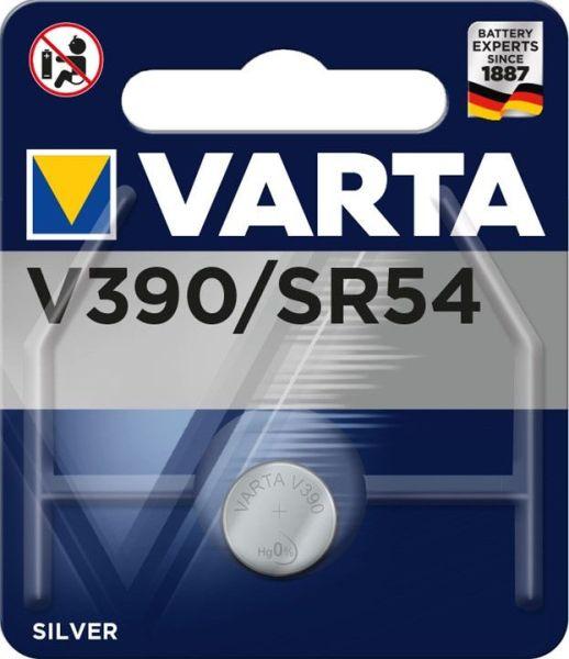 Varta V390 Knopfzelle 1er Blister