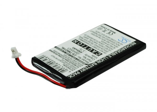 Akku passend für TomTom GPS-9821X, Q6000021 650mAh