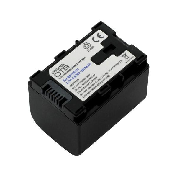 Akku ersetzt JVC BN-VG121EU, BN-VG138 2670mAh