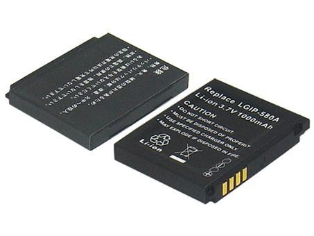 Akku ersetzt LG LGIP-580A, LG LGIP-580A, SBPL0091701 900mAh