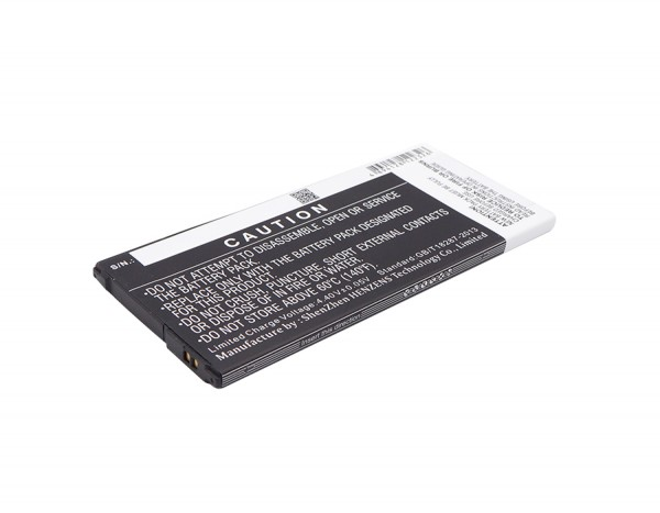 Akku passend für Samsung Galaxy On7 Duos, SM-G6100 3300mAh
