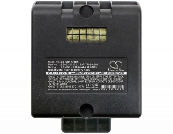 Akku ersetzt Cattron Theimeg 1BAT-7706-A201 2.5Ah Schwarz