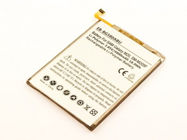 Akku passend für Samsung Galaxy M20, M20 Duos 4900mAh