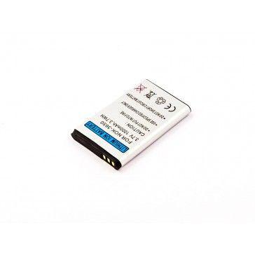 Akku passend für Nokia 1101, 1108, 1110i, 1112, 1200 1000mAh