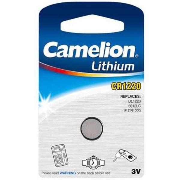 Camelion CR1220, DL1220, BR1220 Knopfzelle
