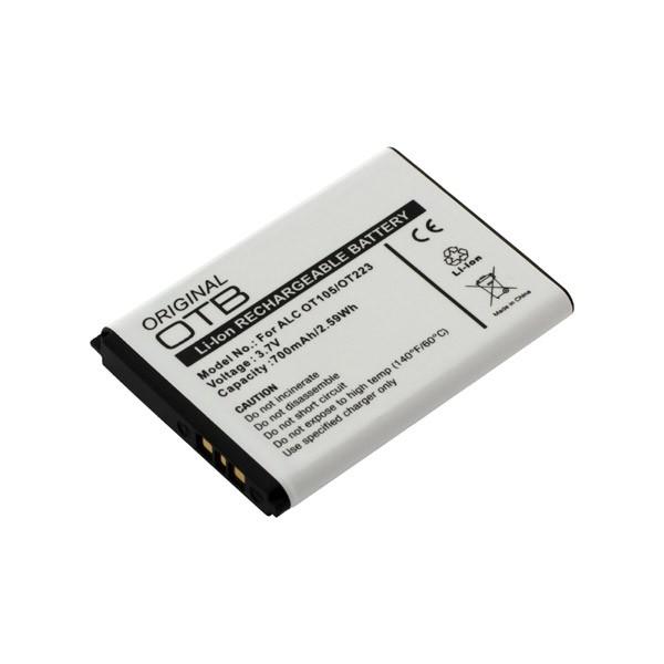 Akku passend für Alcatel One Touch 103A, 105A, 106, 108, 109