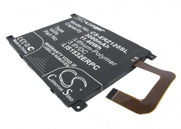Akku passend für Sony Ericsson Xperia Z1, LIS1532ERPC 3000mAh