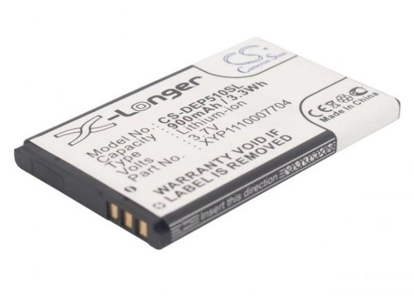 Akku ersetzt Doro DBC-800A, XYP1110007704 900mAh