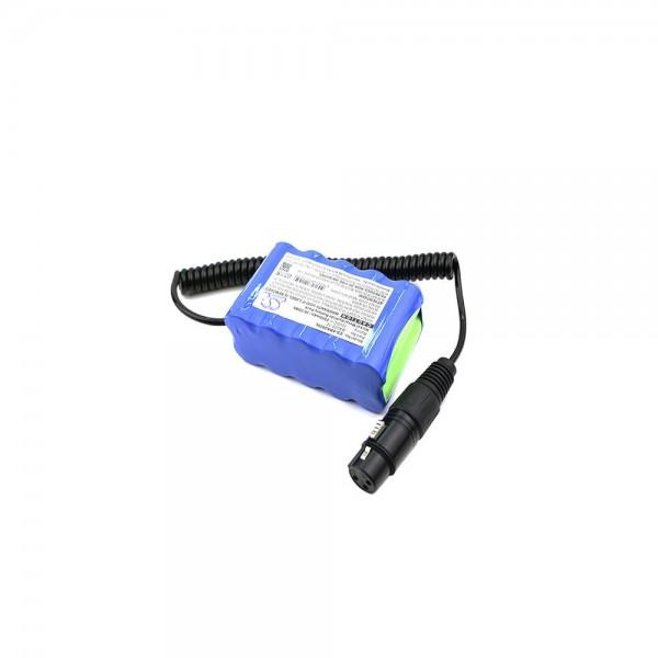 Akku passend für Sennheiser BA202-SYS, HMEC 12V 2500mAh