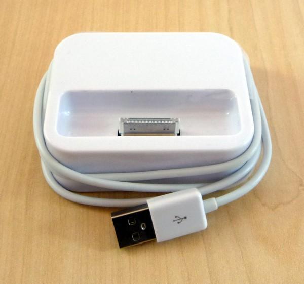 USB Dockingstation für iPhone 3G Weiss