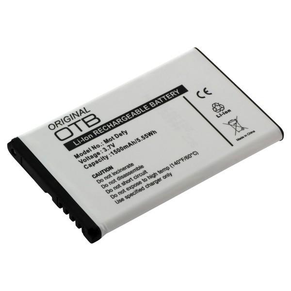 Akku passend für Motorola Defy+ Electrify, Jordan, MB525 1500mAh
