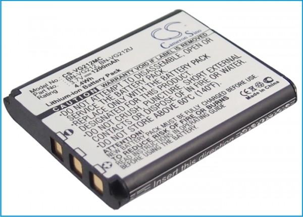 Akku passend für JVC GZ-V500, GZ-V500BUS, GZ-V505 1100mAh