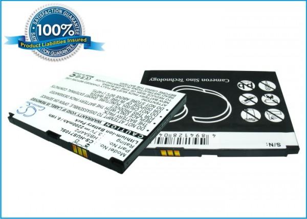 Akku für Huawei HB5A4P2, 2200mAh