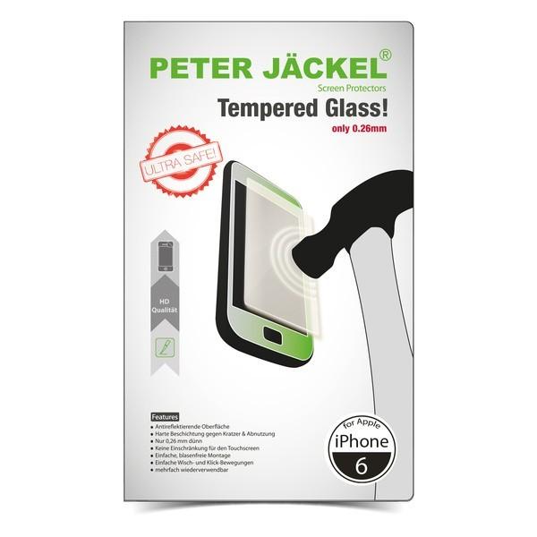 PETER JÄCKEL HD Displayschutzglas für iPhone 6 / 6