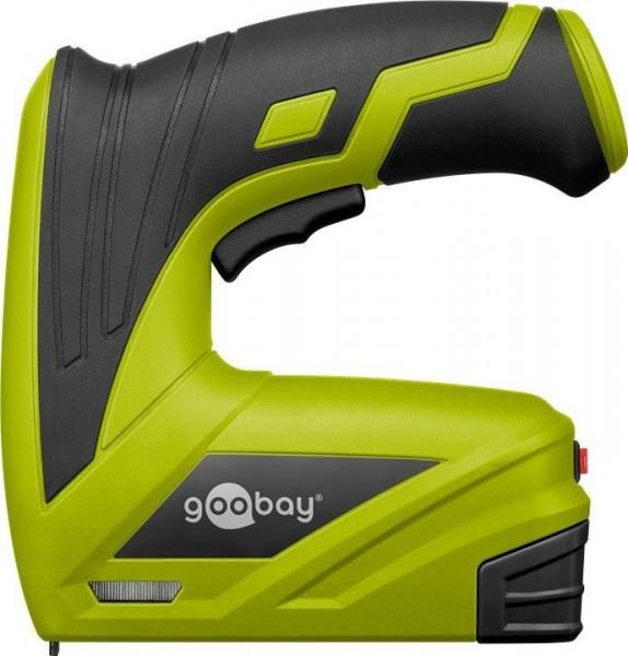 Goobay Akkutacker 3.6V inkl. 1000 Klammern + Ladegerät