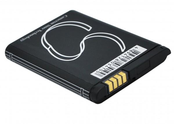 Akku ersetzt Motorola BN70, SNN5837, SNN5837A 1000mAh