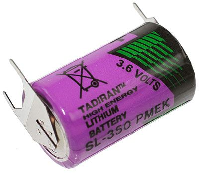 TadiranSL-350/PT 1/2 AA Lithium Batterie 1200mAh 3er Print